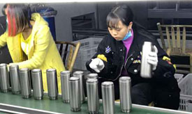 how are vacuum insulated stainless steel water bottles made